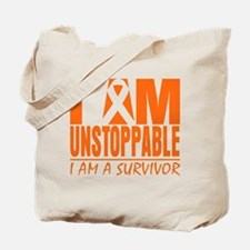 I am Unstoppable Leukemia Tote Bag