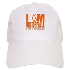 I am Unstoppable Leukemia Baseball Cap
