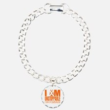 I am Unstoppable Leukemia Bracelet