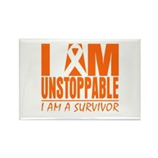 I am Unstoppable Leukemia Rectangle Magnet