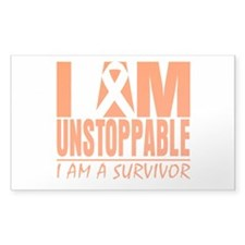 I am Unstoppable Leukemia Decal