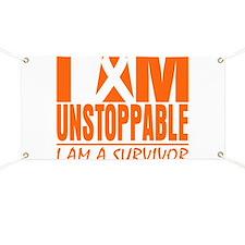 I am Unstoppable Leukemia Banner