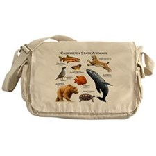 California State Animals Messenger Bag