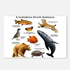 California State Animals Postcards (Package of 8)