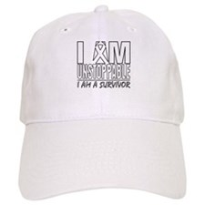 Unstoppable Lung Cancer Baseball Cap
