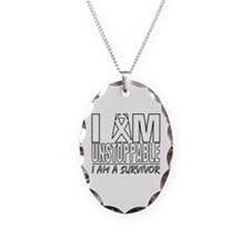 Unstoppable Lung Cancer Necklace