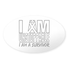 Unstoppable Lung Cancer Decal