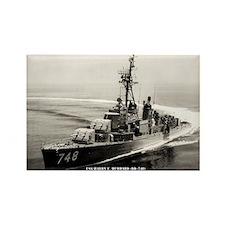 USS HARRY E. HUBBARD Rectangle Magnet