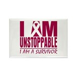 Unstoppable Multiple Myeloma Rectangle Magnet (10