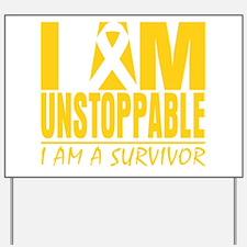 Unstoppable Neuroblastoma Yard Sign