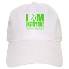 I Am Unstoppable Lymphoma Baseball Cap