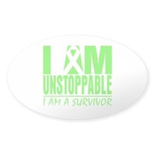 I Am Unstoppable Lymphoma Decal