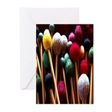 Mallets Greeting Cards (Pk of 10)