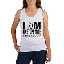 I am Unstoppable Melanoma Women's Tank Top