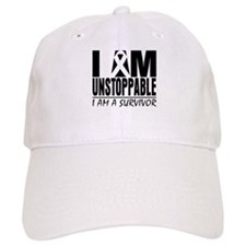 I am Unstoppable Melanoma Baseball Cap