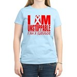 Unstoppable Oral Cancer Women's Light T-Shirt