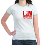 Unstoppable Oral Cancer Jr. Ringer T-Shirt