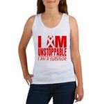 Unstoppable Oral Cancer Women's Tank Top