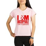 Unstoppable Oral Cancer Performance Dry T-Shirt