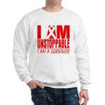 Unstoppable Oral Cancer Sweatshirt