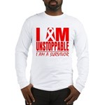 Unstoppable Oral Cancer Long Sleeve T-Shirt