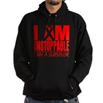 Unstoppable Oral Cancer Hoodie (dark)