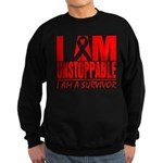 Unstoppable Oral Cancer Sweatshirt (dark)