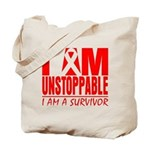 Unstoppable Oral Cancer Tote Bag