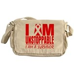 Unstoppable Oral Cancer Messenger Bag