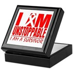 Unstoppable Oral Cancer Keepsake Box