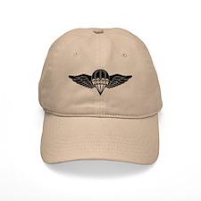 Parachute Rigger B-W Baseball Cap