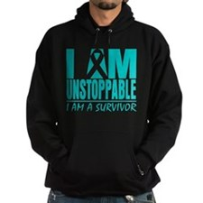 Unstoppable Ovarian Cancer Hoodie