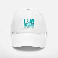 Unstoppable Ovarian Cancer Baseball Baseball Cap