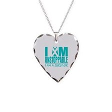Unstoppable Ovarian Cancer Necklace