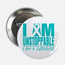 "Unstoppable Ovarian Cancer 2.25"" Button"