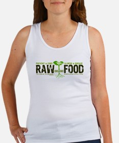 RawFood_DARK_Background Tank Top