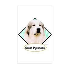 Pyr 2 Rectangle Decal