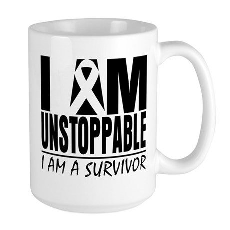 Unstoppable Skin Cancer Large Mug