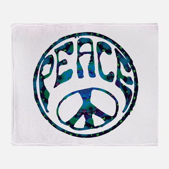 Peace - Mellow Throw Blanket