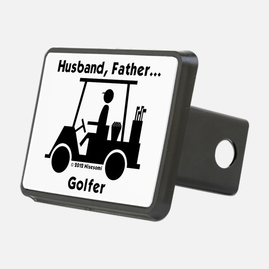Husband, Father, Golfer Hitch Cover