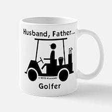 Husband, Father, Golfer Mug