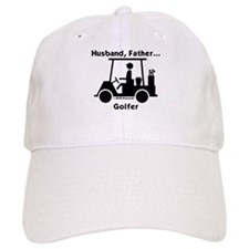 Husband, Father, Golfer Baseball Cap