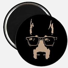 """Dobe Glasses 2.25"""" Magnet (100 pack)"""