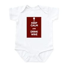Keep Calm and Drink Wine Onesie