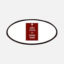 Keep Calm and Drink Wine Patches