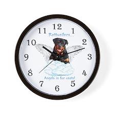 Rottie 5 Wall Clock