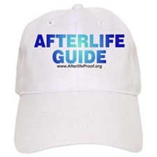Afterlife Guide - White Baseball Cap