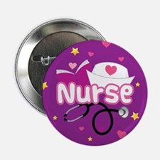 "Cute Nurse 2.25"" Button"