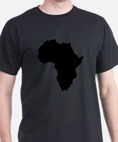 Shape map of AFRICA T-Shirt