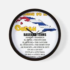 BASEBALL TERMS copy.png Wall Clock